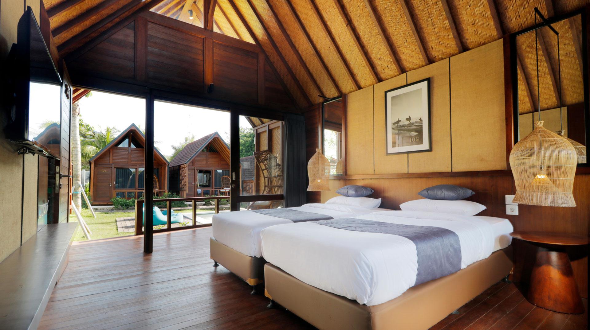 Bedroom Litus Bingin Uluwatu Bali